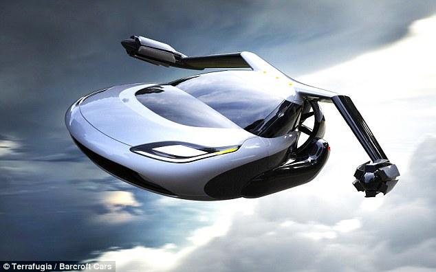 Chiếc ô tô bay là phát minh mới ấn tượng