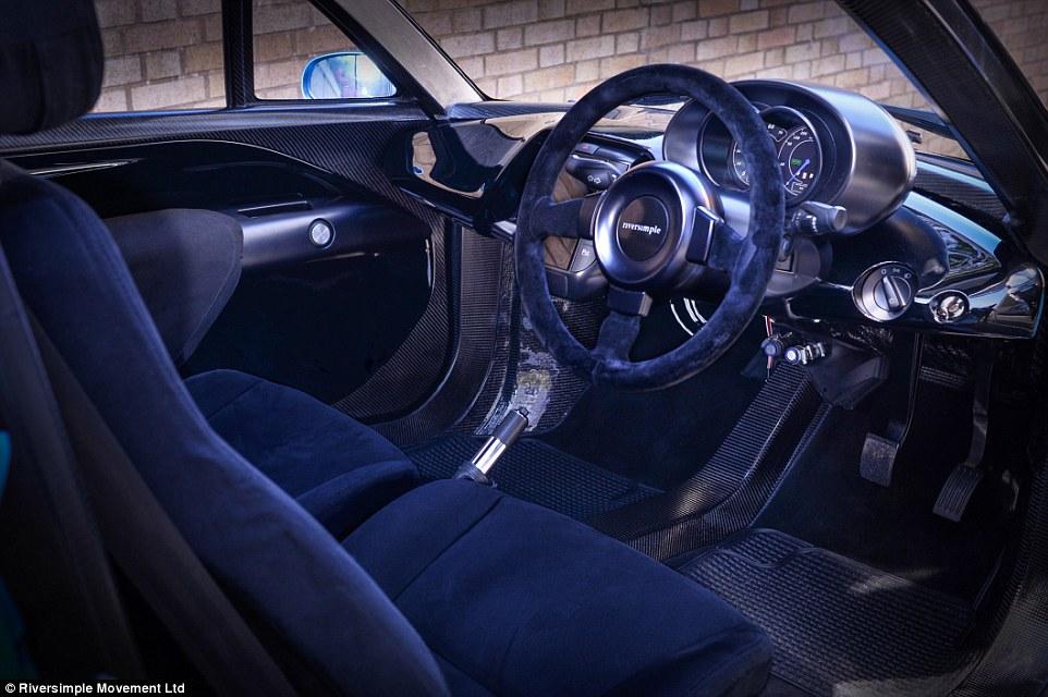 Xe có thể tăng tốc đến 97km/h