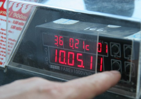 Mức cước taxi Đà Nẵng đã giảm giá tới 2 lần trong đợt điều chỉnh cước vận tải này
