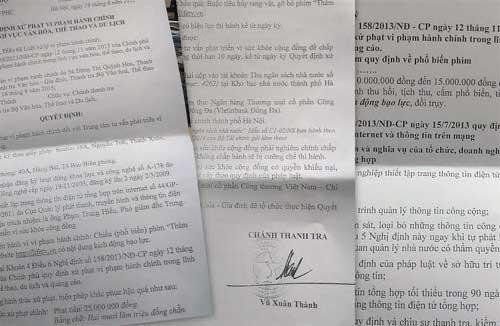 Quyết định xử phạt hành chính đơn vị tuyên truyền, đăng tải bộ phim 'ăn theo' vụ thảm sát ở Bình Phước
