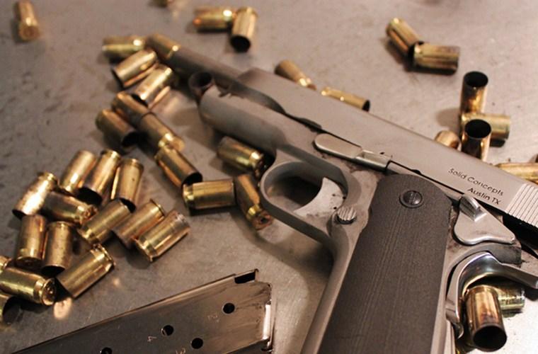 Cận cảnh khẩu súng lục kim loại 3D đầu tiên với độ chính xác không thua kém vũ khí thông thường