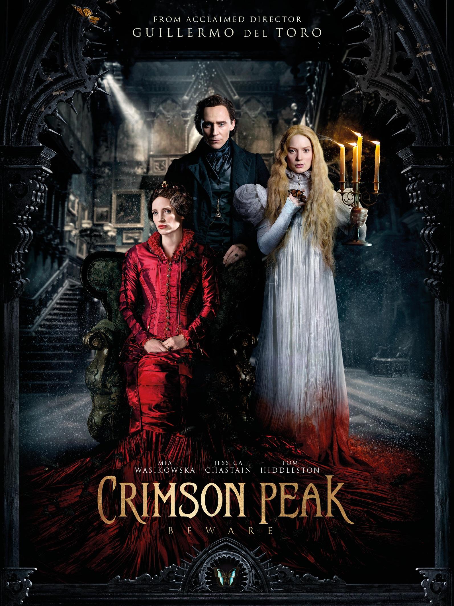 bộ phim kinh dị Crimson Peak sẽ là luồng gió mới trong dịp Giáng sinh 2015