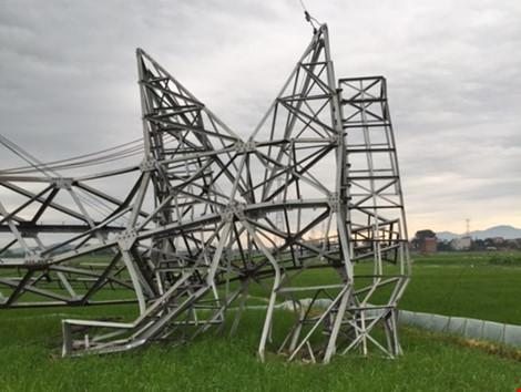 Phó Thủ tướng yêu cầu điều tra nguyên nhân đổ cột điện 500 kV
