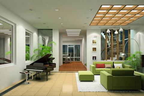 Tránh sử dụng nhiều màu sắc tương phản khi bố trí nội thất