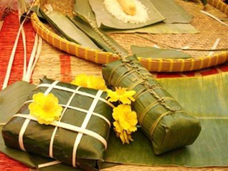 Gói bánh chưng đã trở thành phong tục ngày Tết không thể thiếu của người Việt Nam