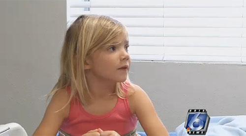 Cô bé Allison Anderwald đã cứu mẹ khỏi tai nạn chết đuối nhờ sự thông minh, nhanh trí