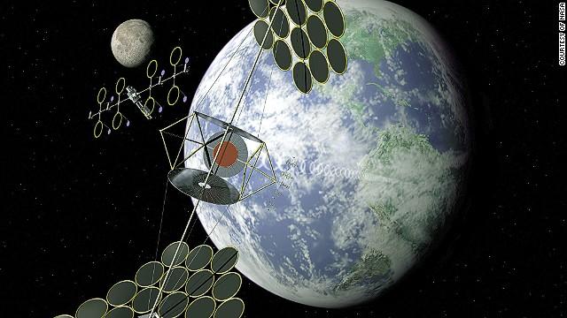 Các tấm pin năng lượng mặt trời có thể sản xuất năng lượng hầu như liên tục trong vũ trụ