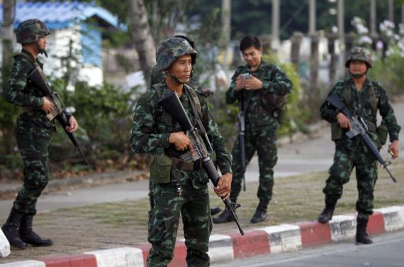 đảo chính quân sự tại Thái Lan