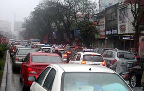 Cấm ô tô đường Xuân Thủy - Cầu Giấy, Sở GTVT Hà Nội, ga Hà Nội