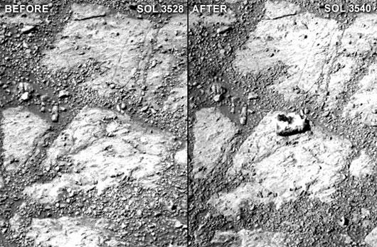 hòn đá sao hỏa, nasa, bí ẩn, nhà khoa học