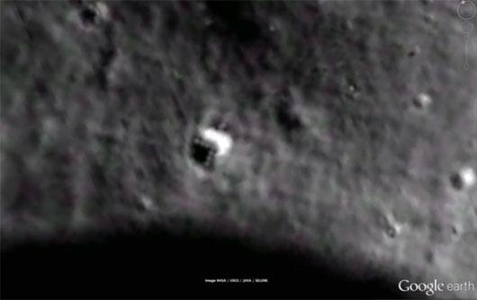 người ngoài hành tinh, dấu vết người ngoài hành tinh, mặt trăng, vật thể lạ, ufo