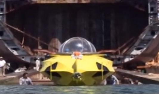 Tàu lặn biển Made in Việt Nam thử nghiệm thành công