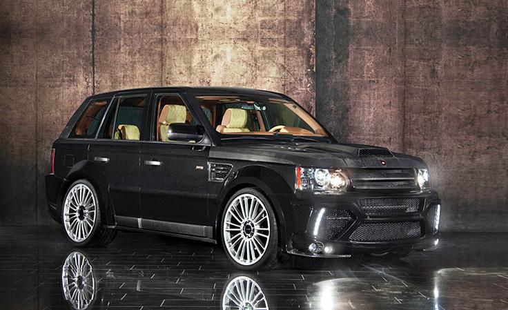 Dòng xe Range Rover đắt nhất thế giới là Range Rover Sport Mansory 2011