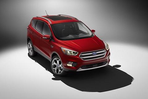 Ford Escape phiên bản 2017 sẽ giữ nguyên chiều dài, chiều rộng và trục xe như những phiên bản trước đây
