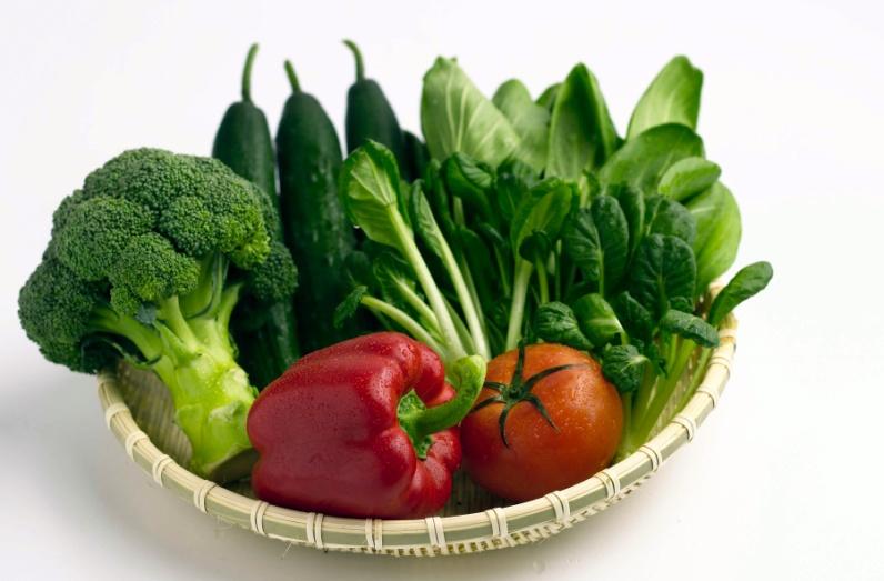 Ăn nhiều rau xanh cũng là một cách giúp tiêu mỡ bụng