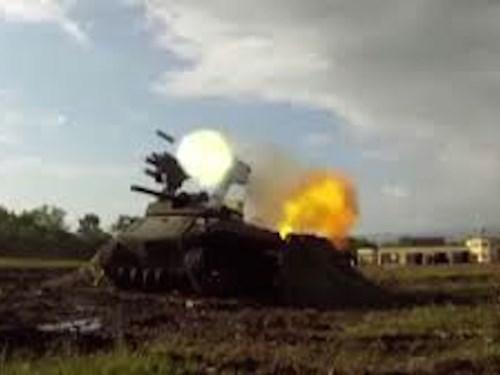 Nga thử nghiệm thành công robot chiến đấu trên chiến trường quân sự thực thụ