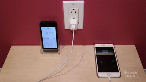 BI đã đưa ra cách sạc nhanh iPhone 6 và iPhone 6 Plus