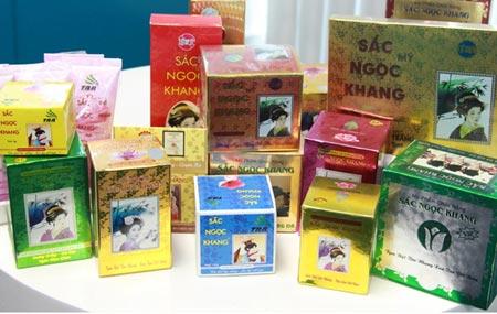 Sản phẩm Sắc Ngọc Khang của Công ty CP Dược phẩm Hoa Thiên Phú bị làm giả tràn lan