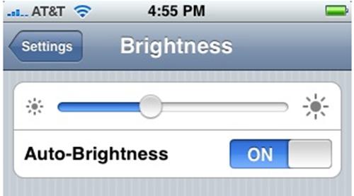 Độ sáng màn hình cao không tốt cho mắt