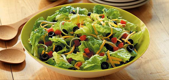 salad làm tăng cân