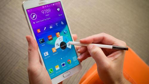 Samsung Galaxy Note 4 phablet có camera tuyệt vời
