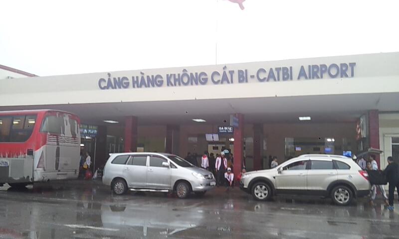 Sân bay Cát Bi nơi xảy ra vụ việc