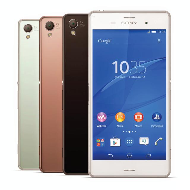 Smartphone được yêu thích nhất năm 2014 của Sony