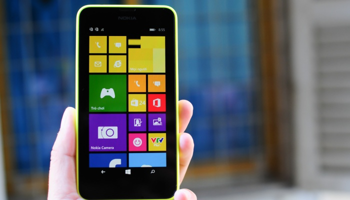 Đây là smartphone 2SIM đầu tiên của dòng Nokia Lumia