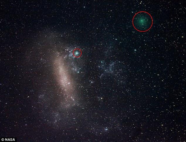 Hai sao chổi 'song sinh' sẽ lướt qua Trái Đất đầu tuần tới