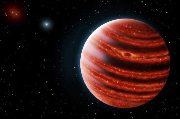 Hành tinh 51 Eridani b được mệnh danh là 'sao Mộc trẻ'. Ảnh Sci-news