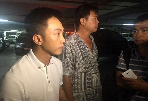 Cường Đô La đã đại diện Tập đoàn Quốc Cường Gia Lai có mặt chỉ đạo khắc phục sự cố sập hầm chung cư