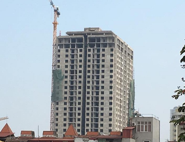 Phát hiện nhiều sai phạm tại công trình Phương Đông - Mỹ Sơn Tower
