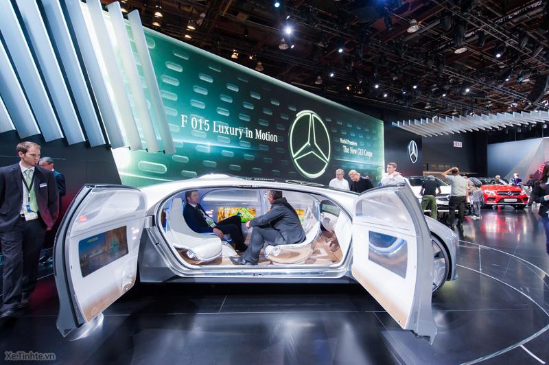 Không gian bên trong độc đáo của chiếc siêu xe Mercedes