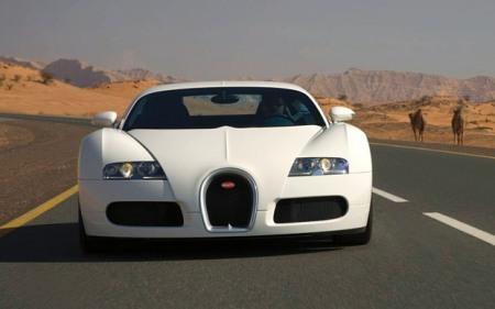 Chiếc xe thể thao màu trắng tuyệt đẹp Bugatti Veyron xuất hiện trong Fast and Furious 7