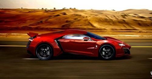Xe đua thể thao siêu sang Lykan HyperSport là siêu phẩm gây chú ý nhất trong 'Fast and Furious 7'