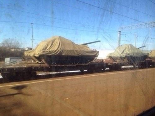 Siêu tăng tối mật T14 Armata bị lộ diện