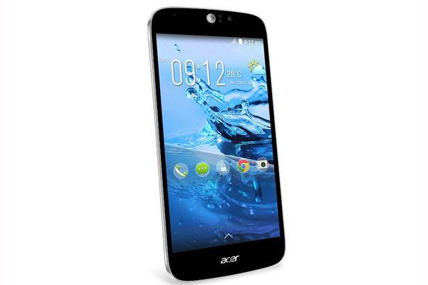 Bộ xử lý 64 bit ấn tượng được tích hợp trong Acer liquid Jade Z
