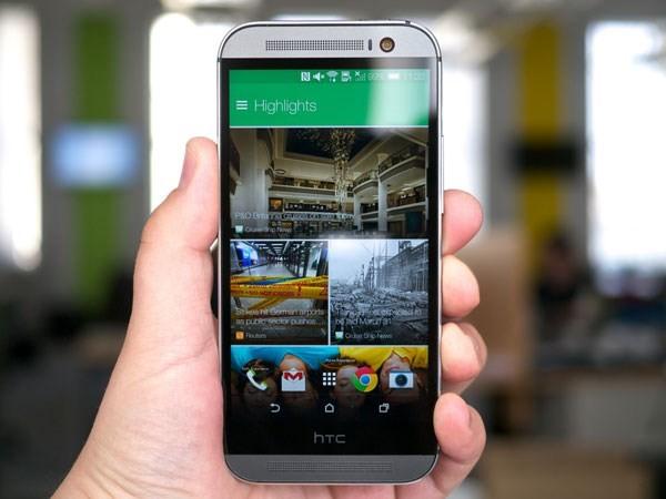 HTC One M8 đã gây chú ý bởi thiết kế ấn tượng và cấu hình mạnh mẽ