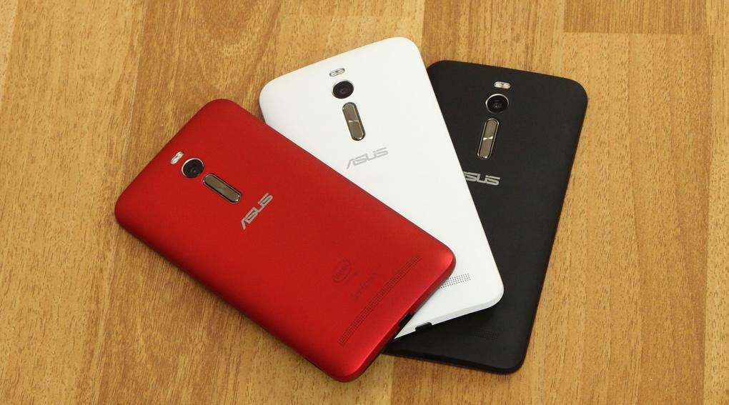 Asus ZenFone 2 có camera trước 5MP