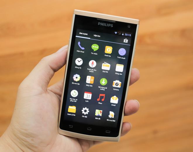 Smartphone giá rẻ S388 được trang bị chip lõi tứ và chạy hệ điều hành Androi
