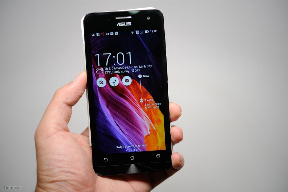 Smartphone giá rẻ Asus Zenfone 5 nổi bật trên thị trường Việt