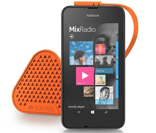 Smartphone giá rẻ Nokia Lumia màn hình 4inch, dễ thao tác, dùng một tay dễ dàng