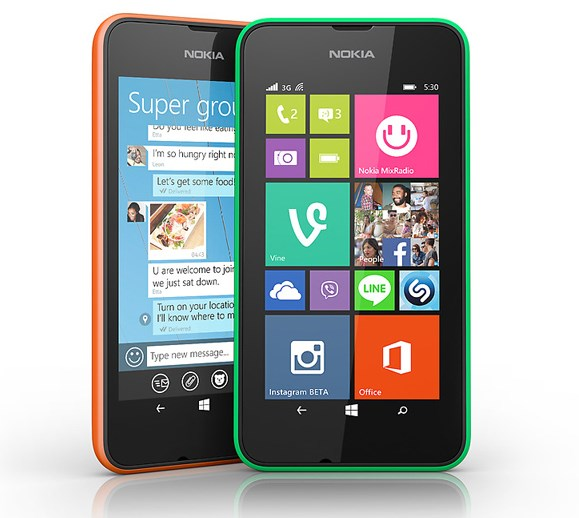 Smartphone giá rẻ Nokia Lumia 530 thiết kế trẻ trung, năng động sắp chạy Windows 10