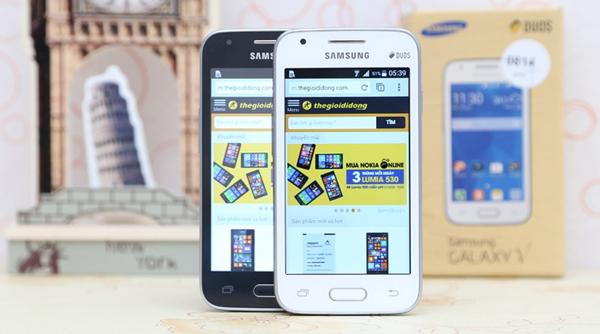 Smartphone giá rẻ Samsung Galaxy V dưới 2 triệu dành cho sinh viên