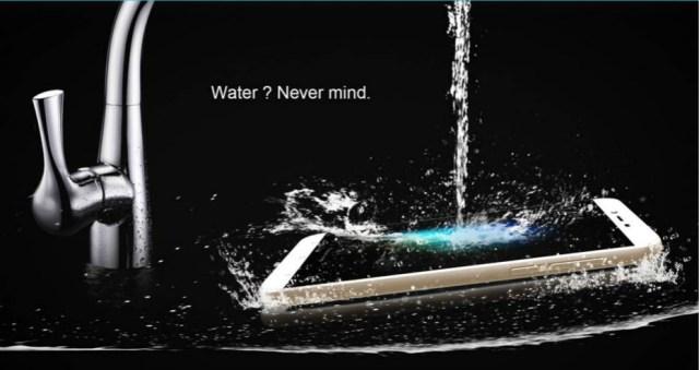 Smartphone giá rẻ chống nước mỏng nhất thế giới dùng chip 8 nhân