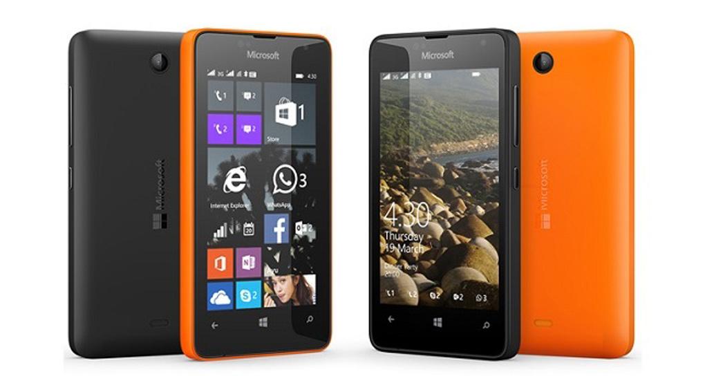 Smartphone giá rẻ Lumia 430 là điện thoại chạy windows Phone rẻ nhất Việt Nam