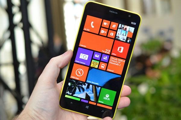 Smartphone giá rẻ mang thương hiệu Nokia đẹp mắt
