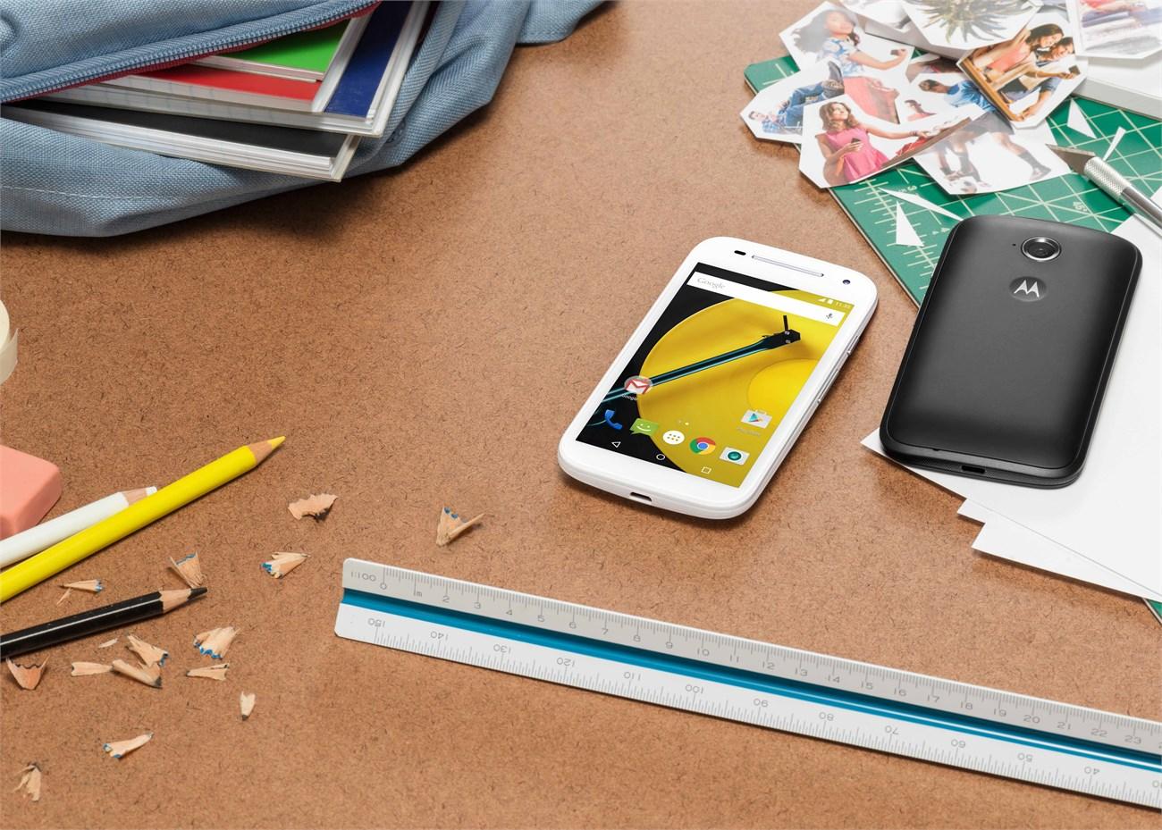 Motorola Moto E đời 2015 là smartphone giá rẻ
