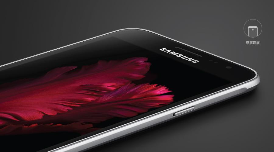 Samsung Galaxy J3 selfie thoải mái với camera trước 5MP