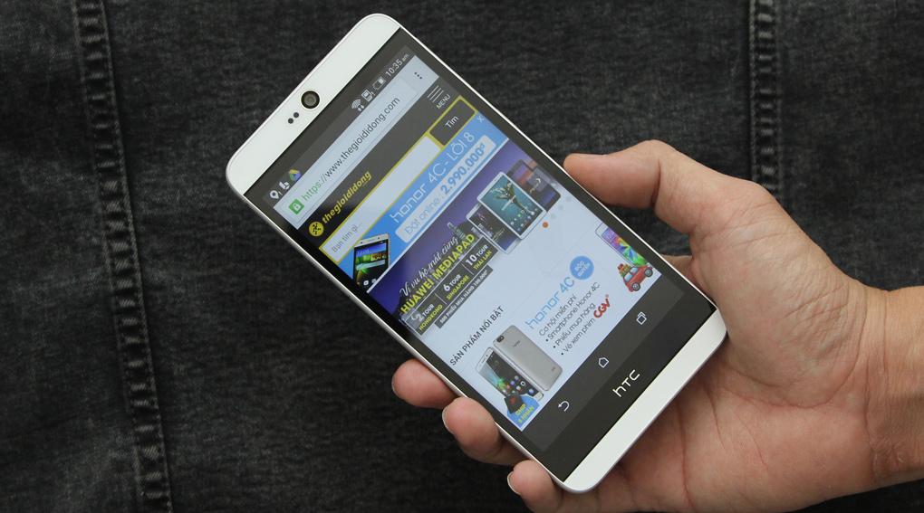 Smartphone giá rẻ HTC Desire 826 Selfie hỗ trợ mạng di động 4G LTE Cat 4